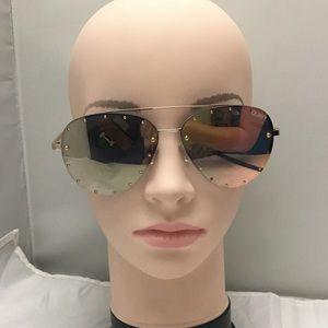 Quay x Jaclyn Hill Roxanne 62mm Stud Sunglasses